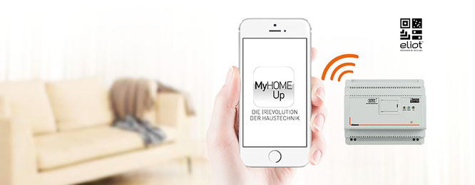 MyHOME / MyHOME_Up bei Elektro Strobl in Rottendorf